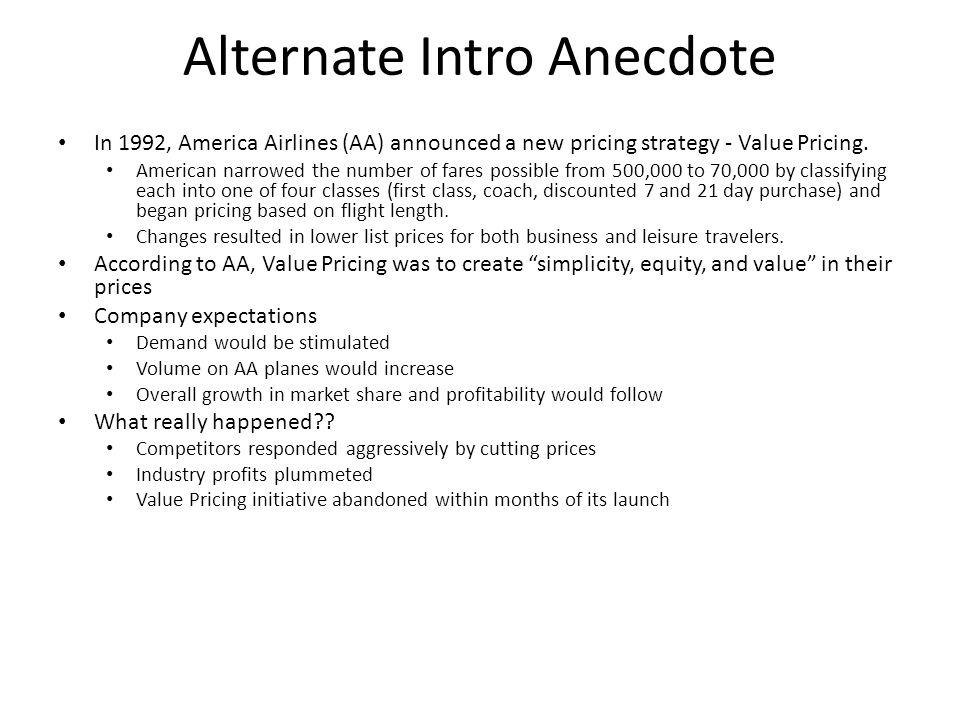Alternate Intro Anecdote