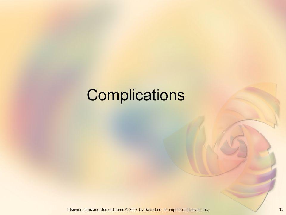 Complications 15