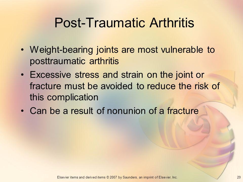 Post-Traumatic Arthritis