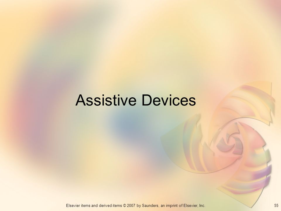 Assistive Devices 55