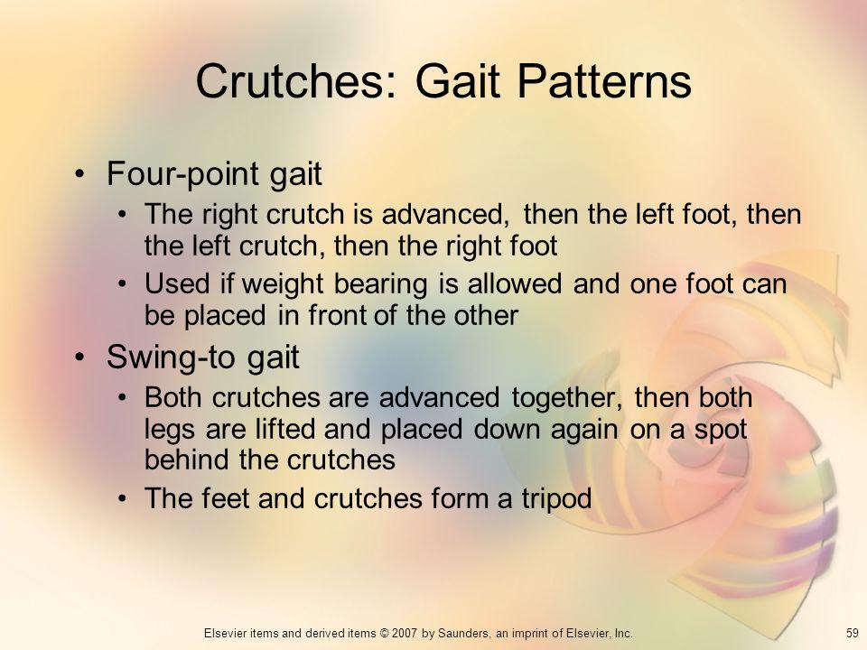 Crutches: Gait Patterns