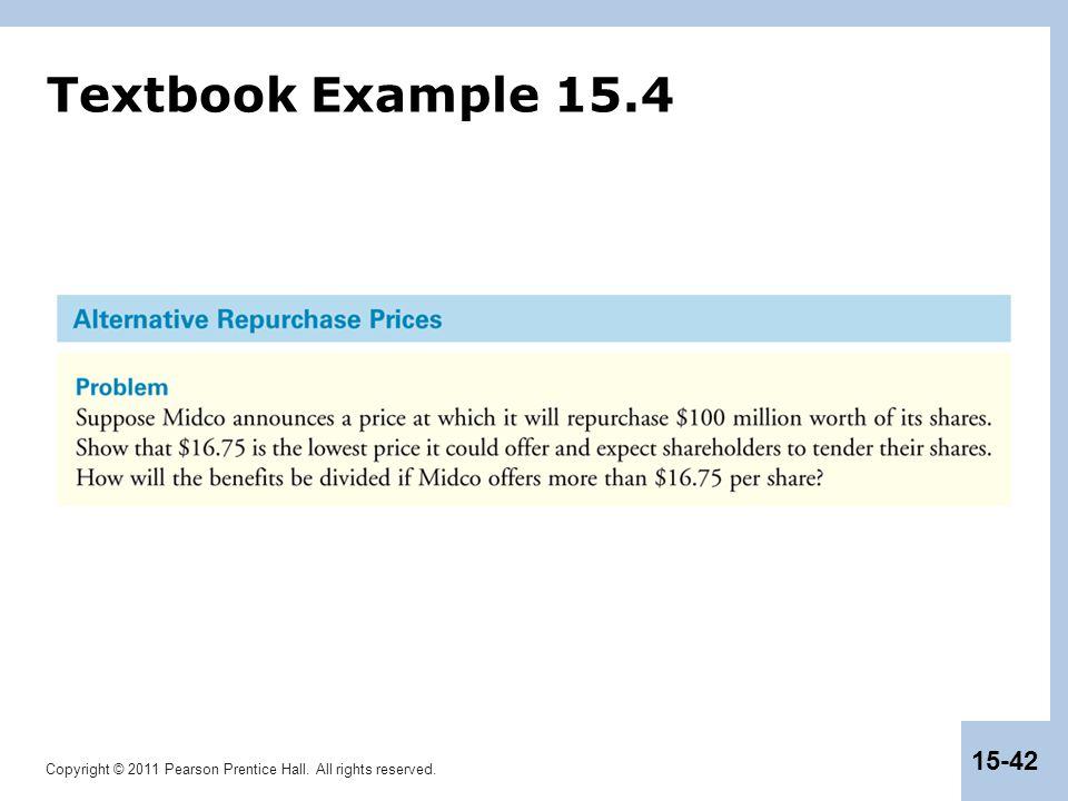 Textbook Example 15.4