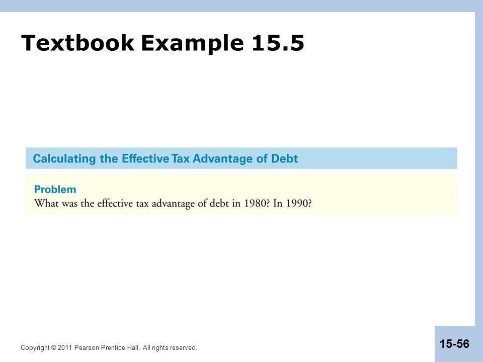 Textbook Example 15.5