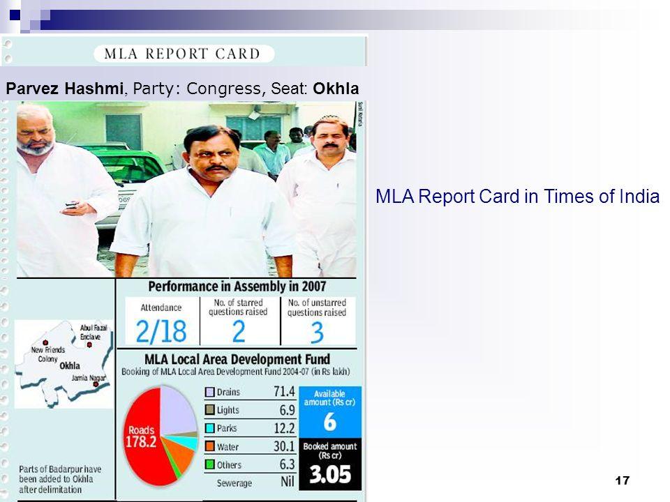 Parvez Hashmi, Party: Congress, Seat: Okhla
