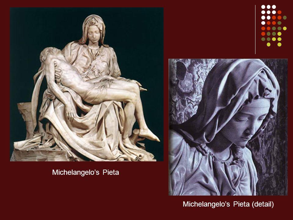 Michelangelo's Pieta (detail)