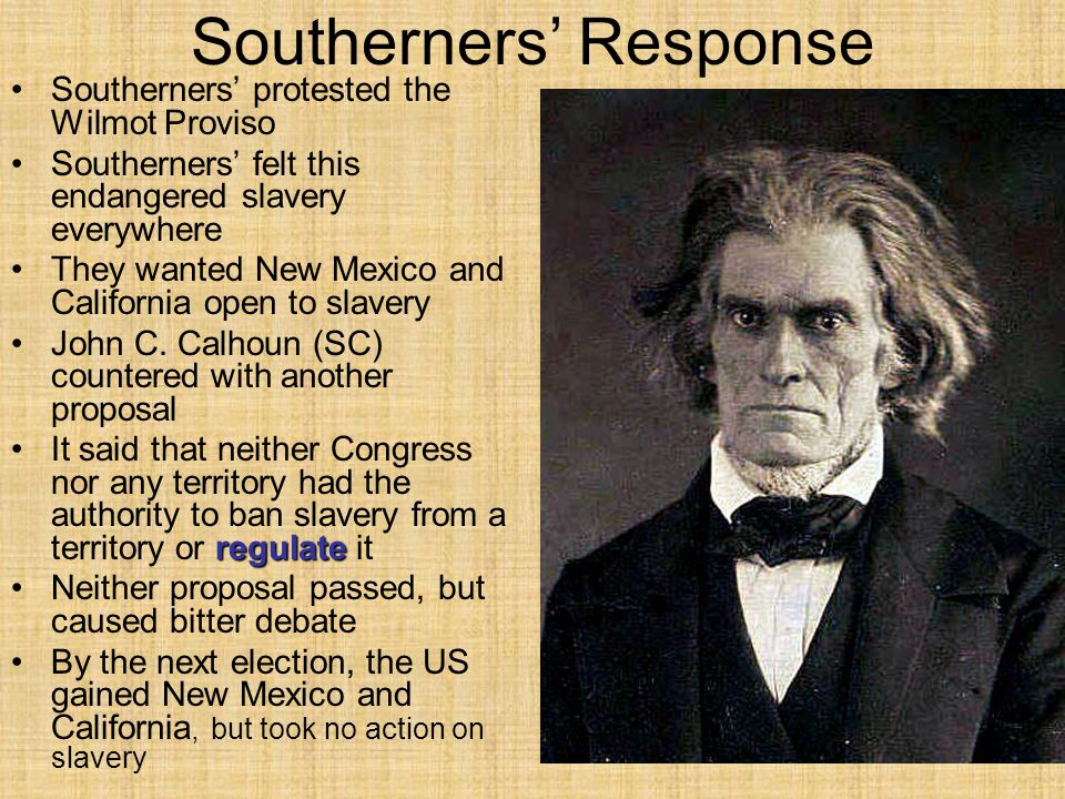 Southerners' Response