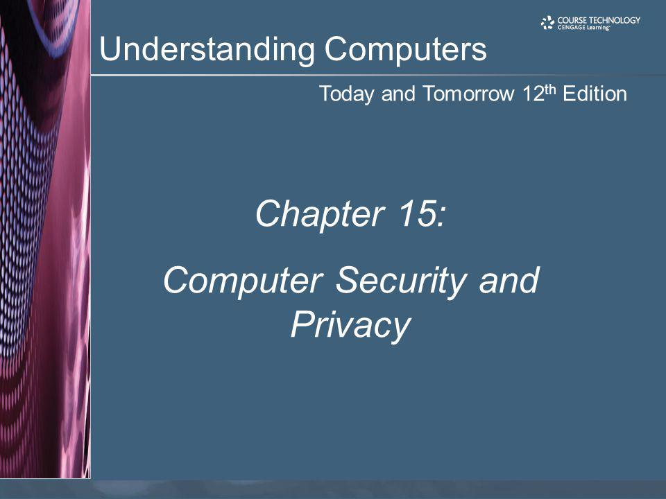 Computer Security and Privacy