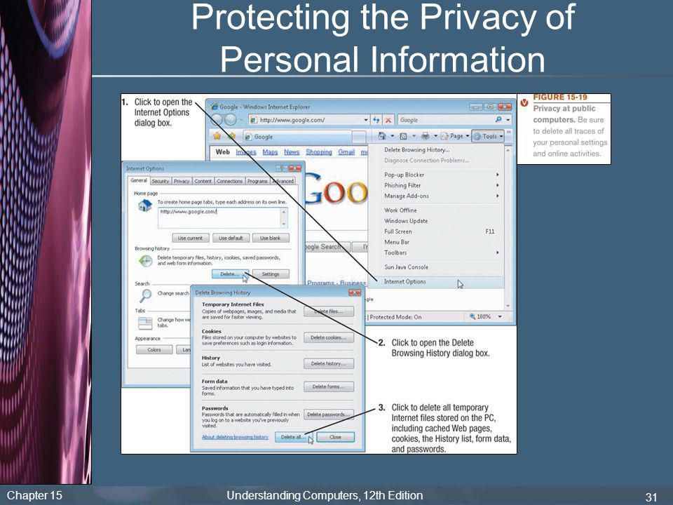 Protecting the Privacy of Personal Information