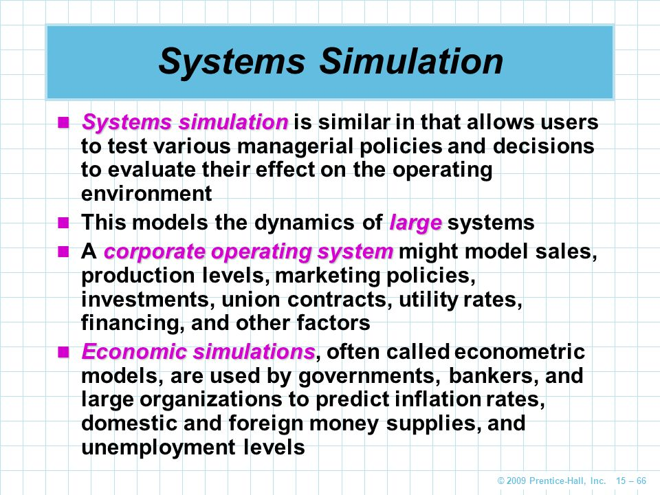 Systems Simulation