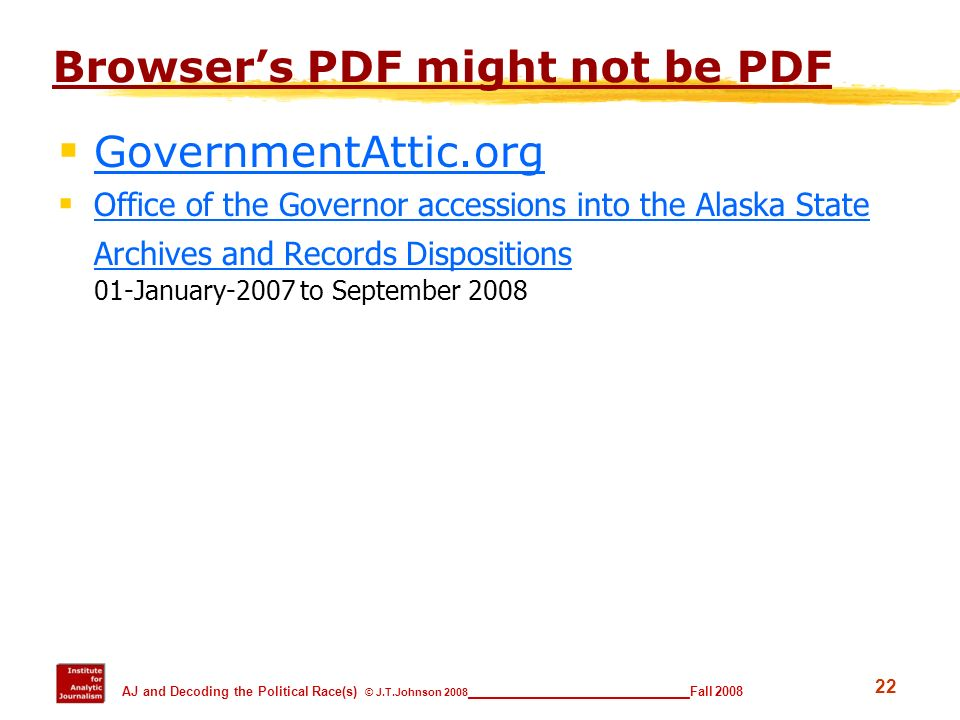 Browser's PDF might not be PDF