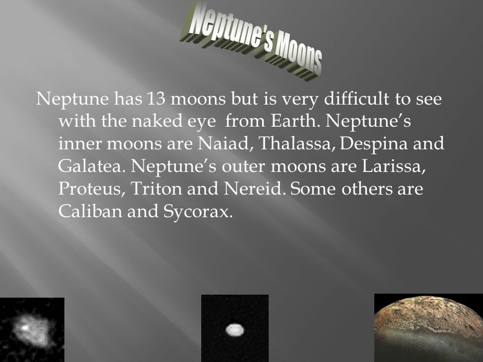 Neptune s Moons