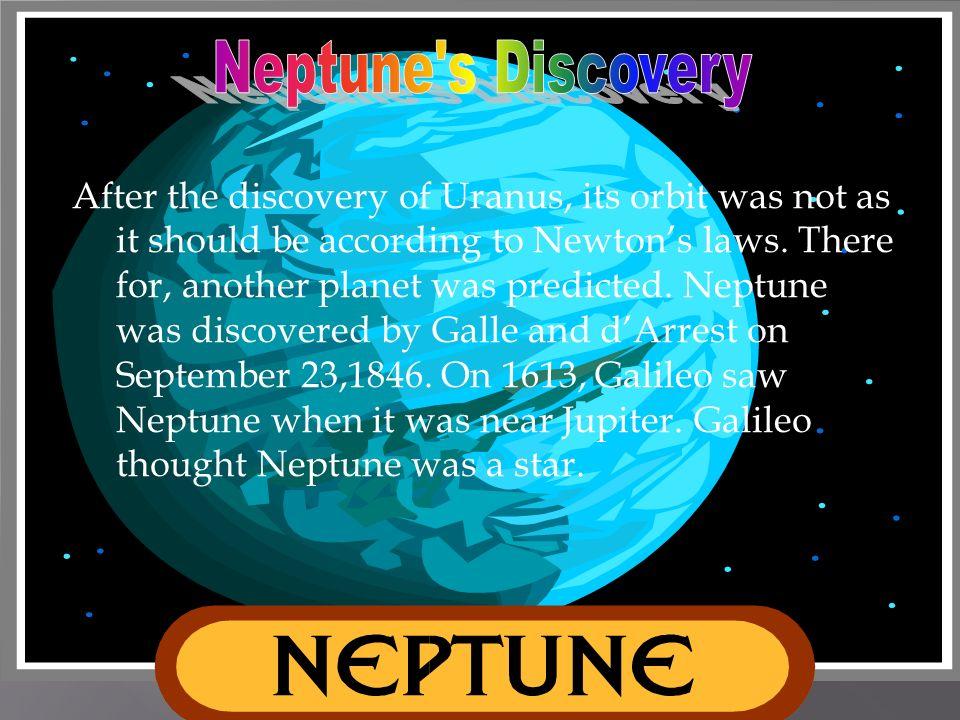 Neptune s Discovery