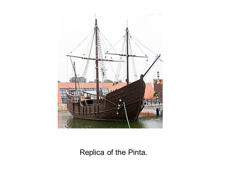 Replica of the Pinta.