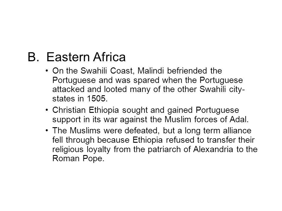 B. Eastern Africa