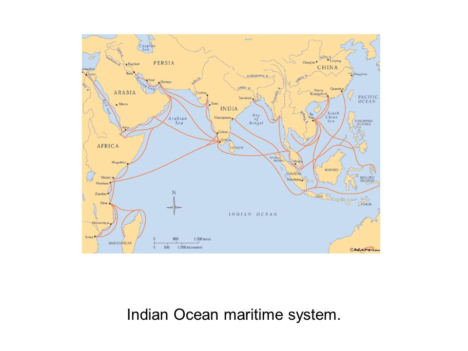 Indian Ocean maritime system.