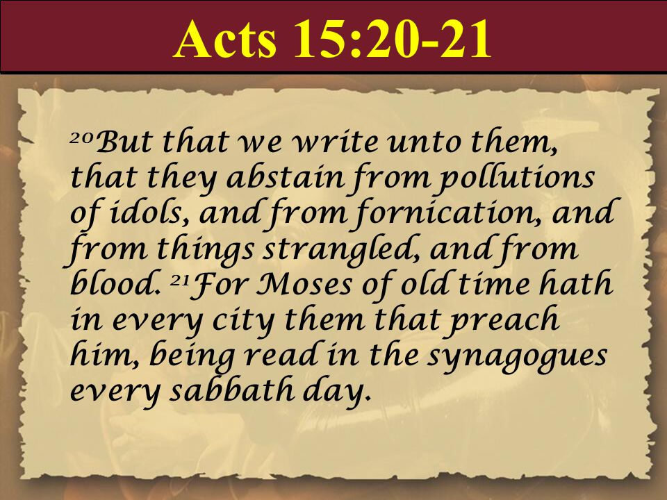 Acts 15:20-21