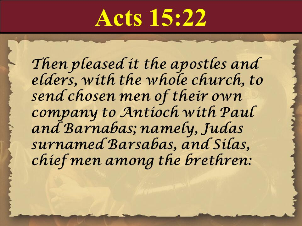 Acts 15:22