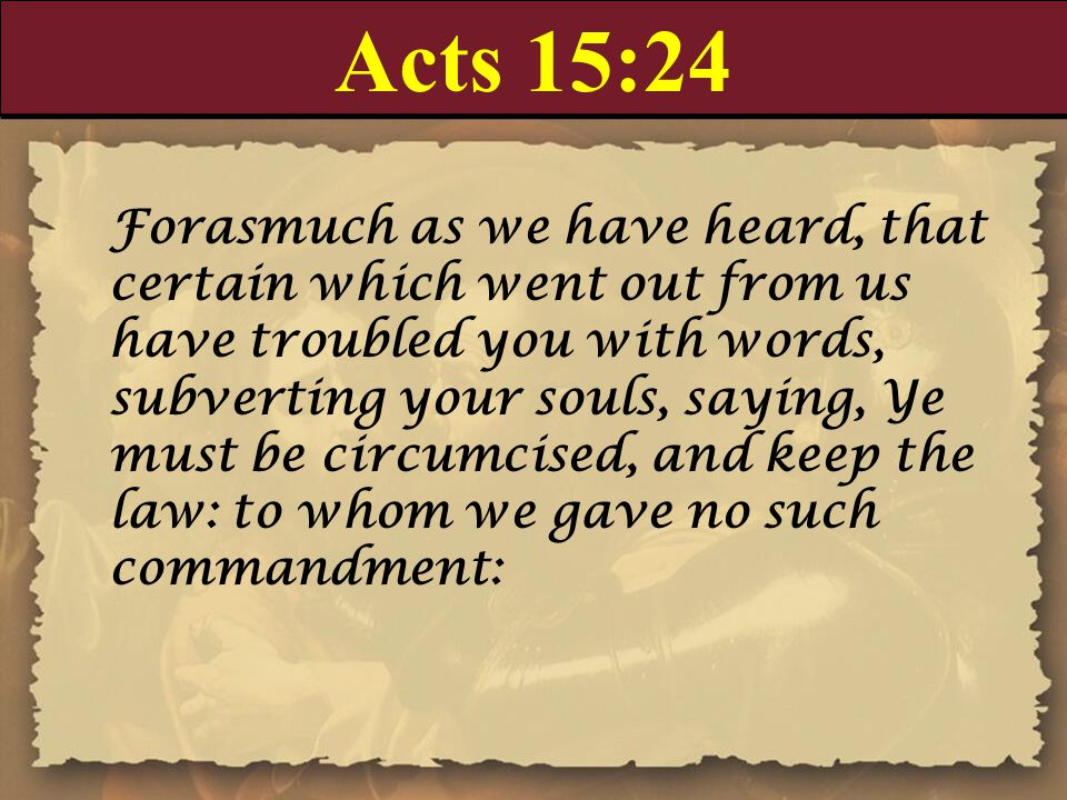 Acts 15:24