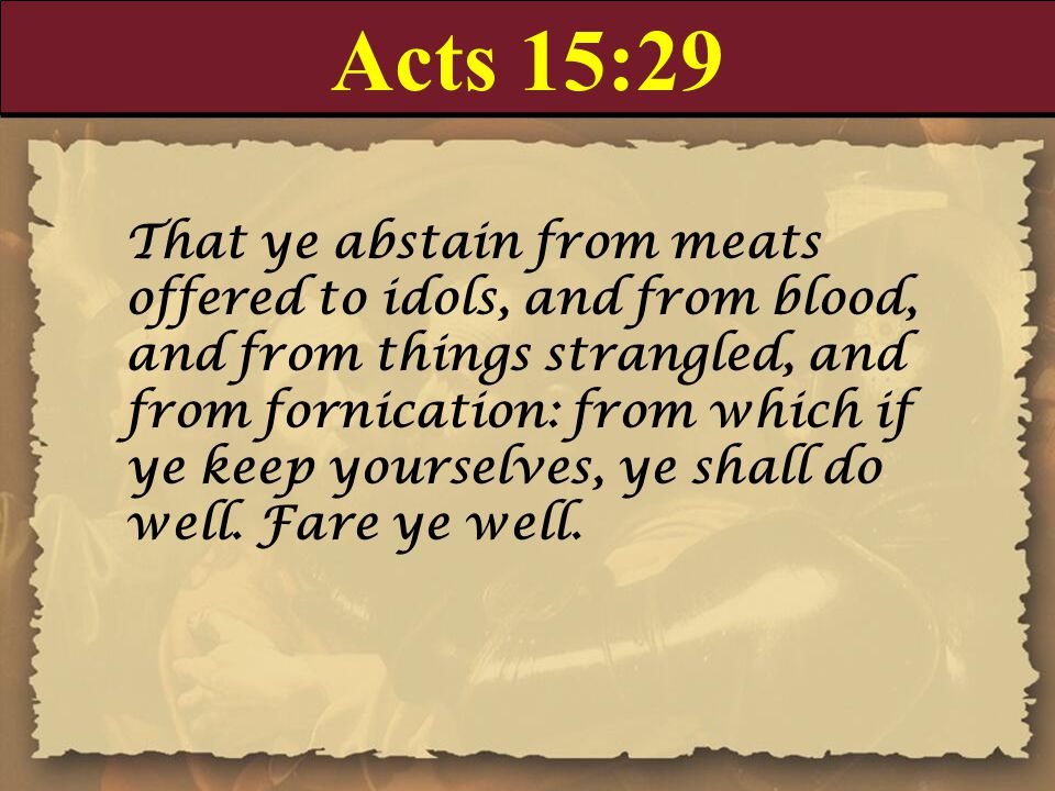 Acts 15:29