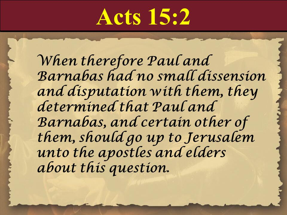 Acts 15:2