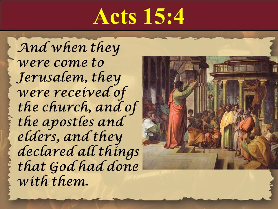 Acts 15:4