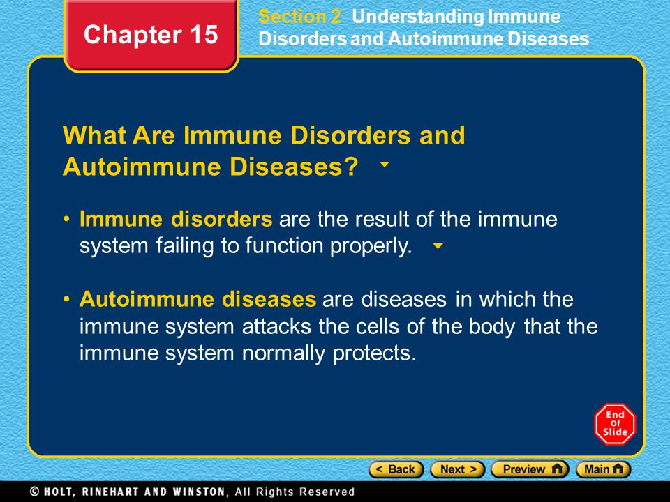 What Are Immune Disorders and Autoimmune Diseases