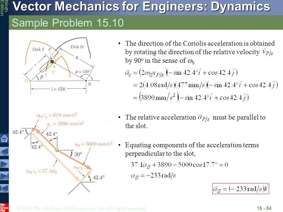 Sample Problem 15.10