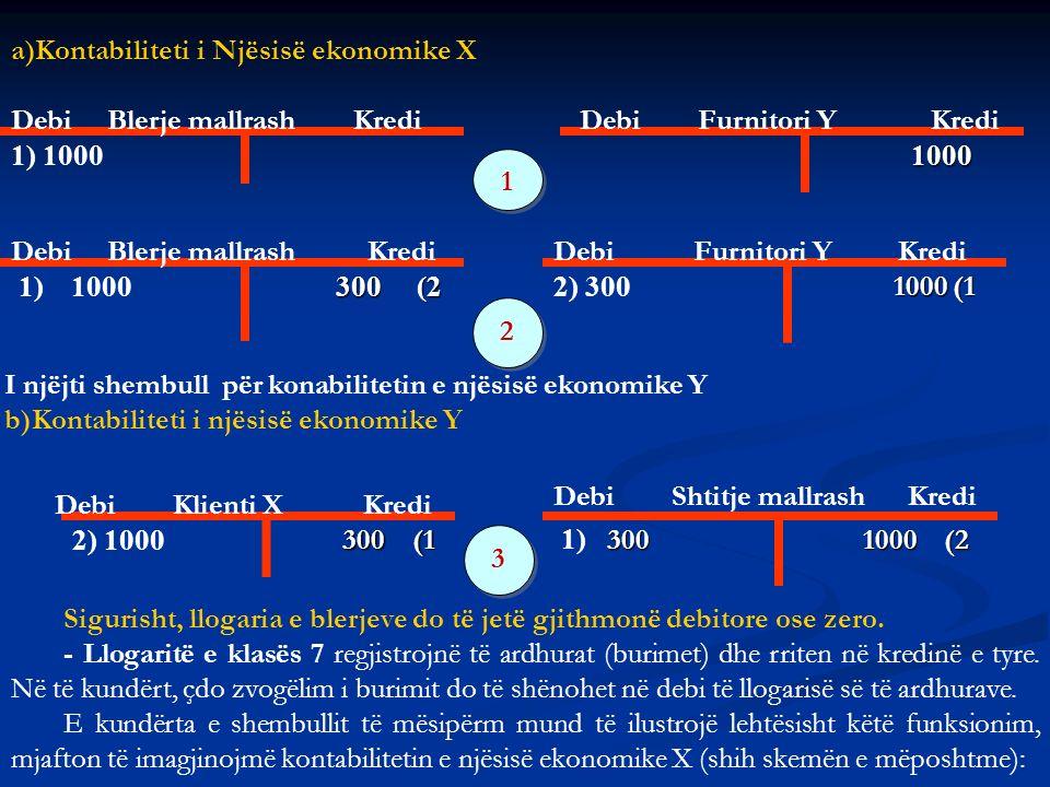 Kontabiliteti i Njësisë ekonomike X