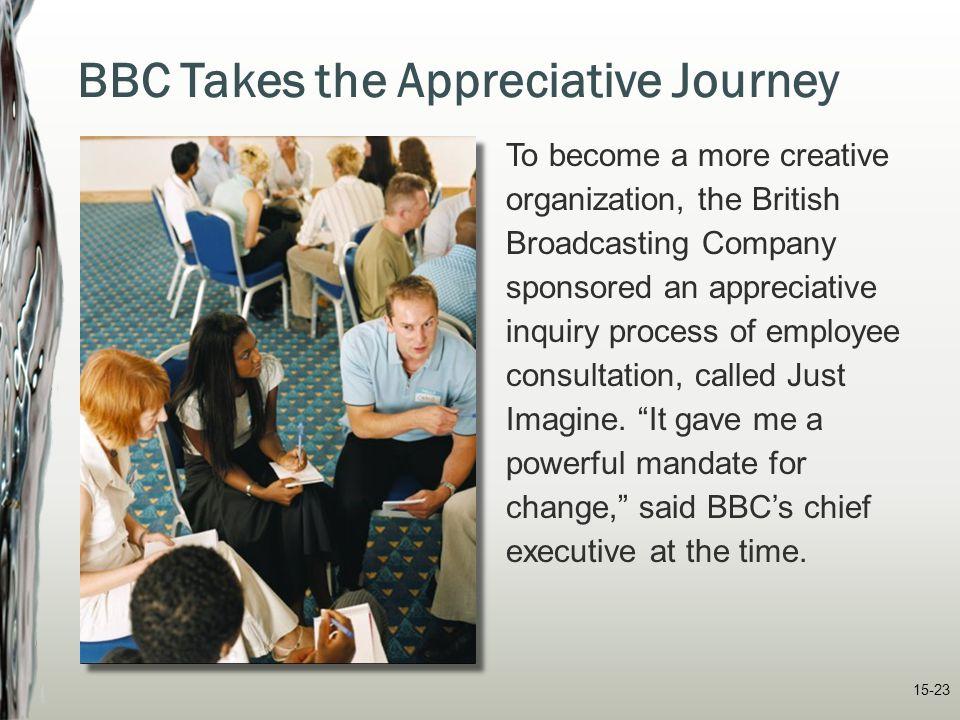 BBC Takes the Appreciative Journey