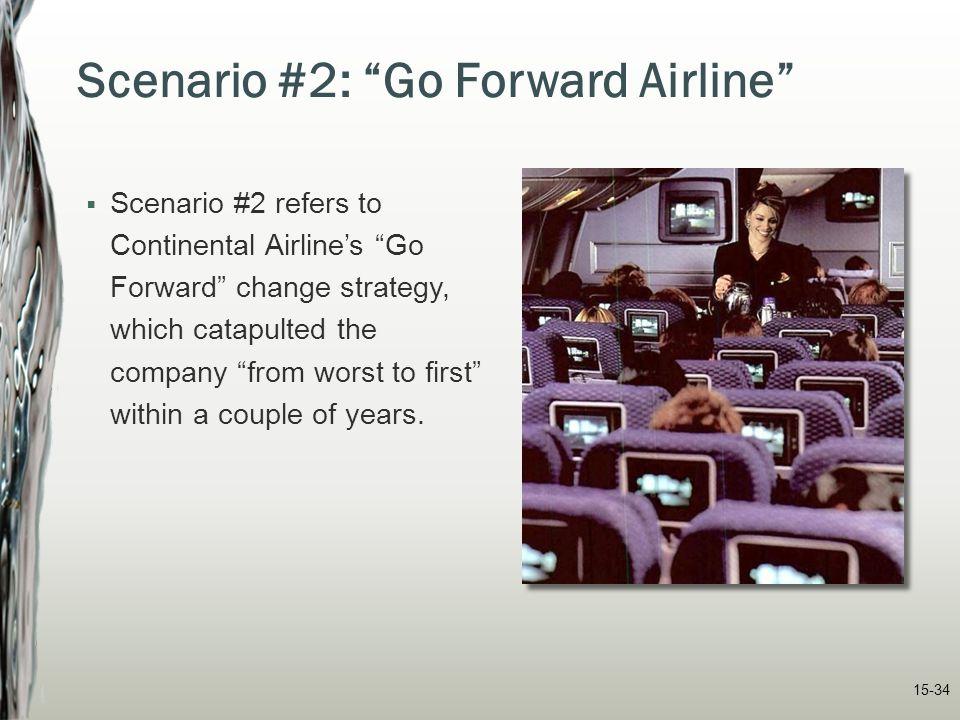 Scenario #2: Go Forward Airline