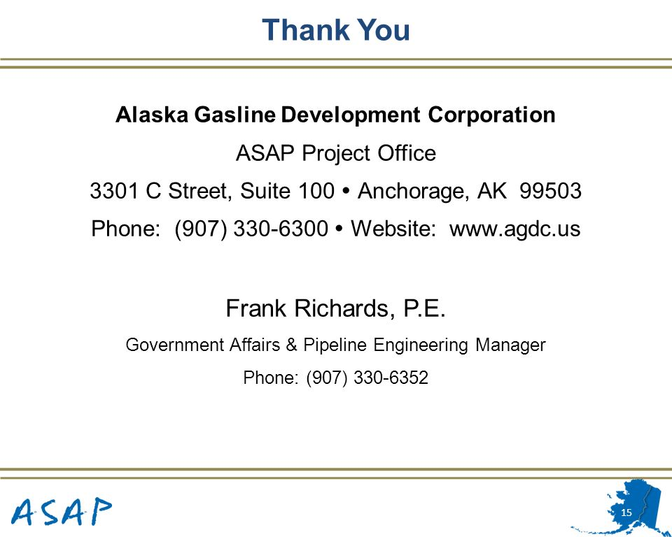 Alaska Gasline Development Corporation