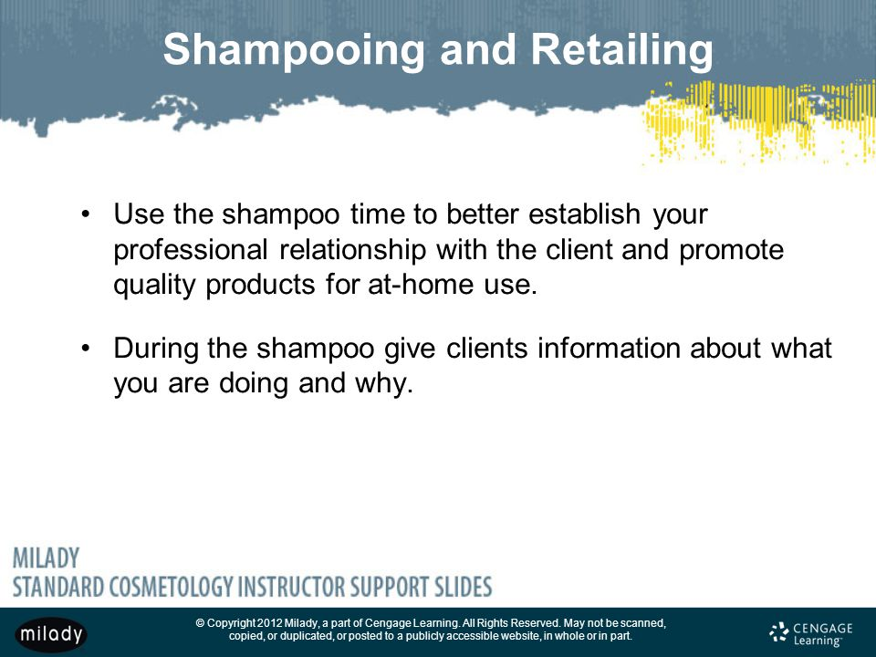 Shampooing and Retailing
