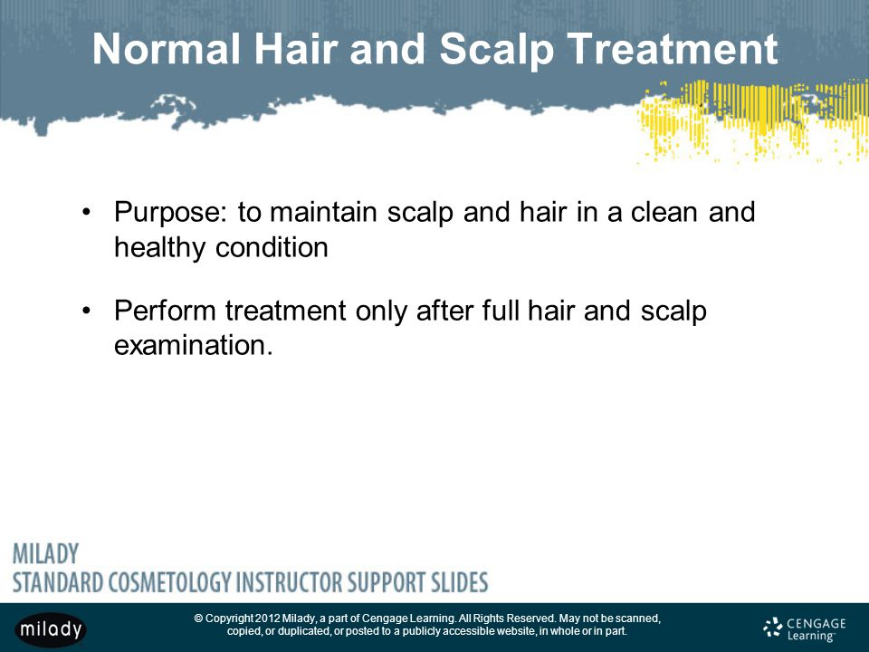 Normal Hair and Scalp Treatment