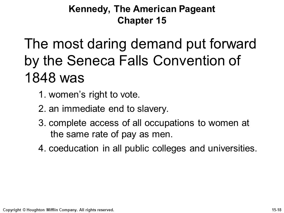 Kennedy, The American Pageant Chapter 15