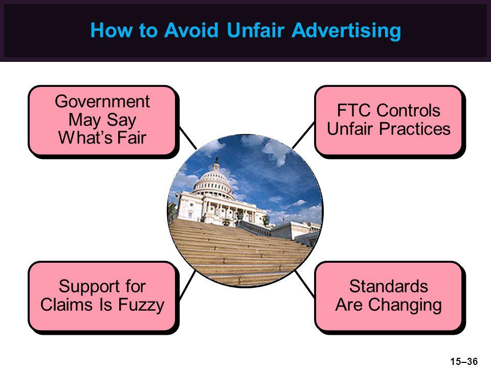 How to Avoid Unfair Advertising