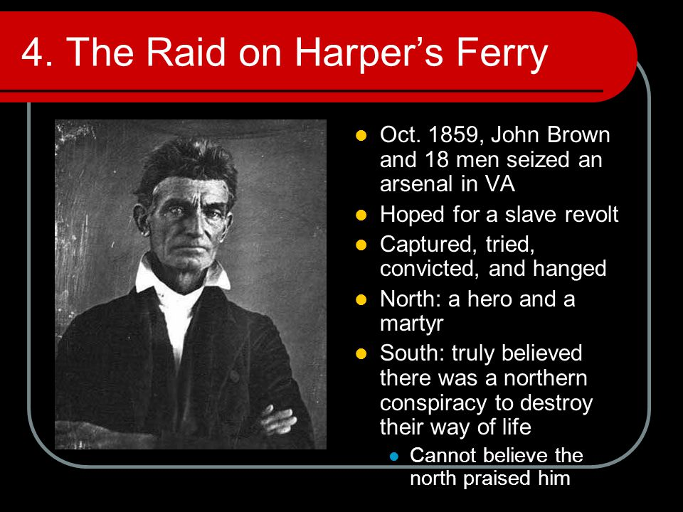 4. The Raid on Harper's Ferry