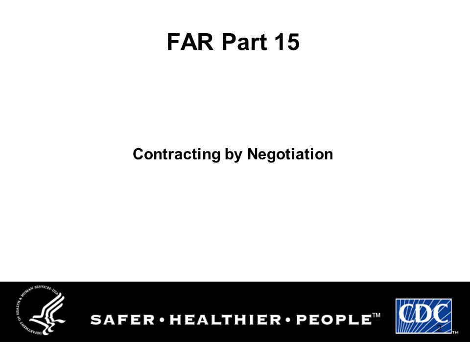 Contracting by Negotiation