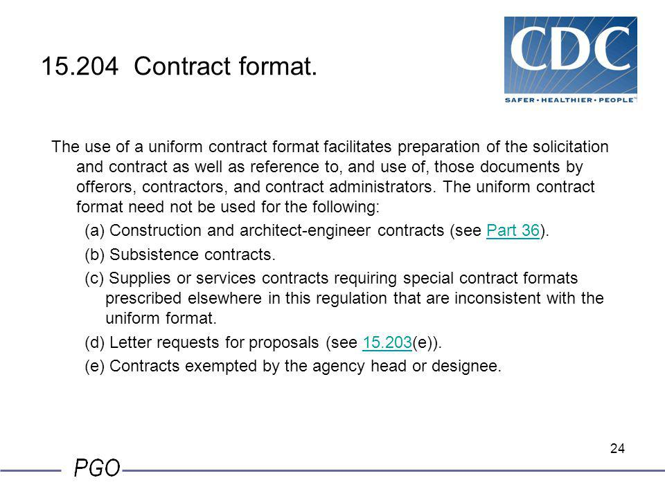 15.204 Contract format.