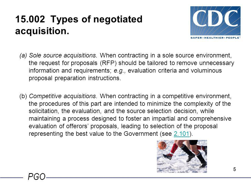 15.002 Types of negotiated acquisition.