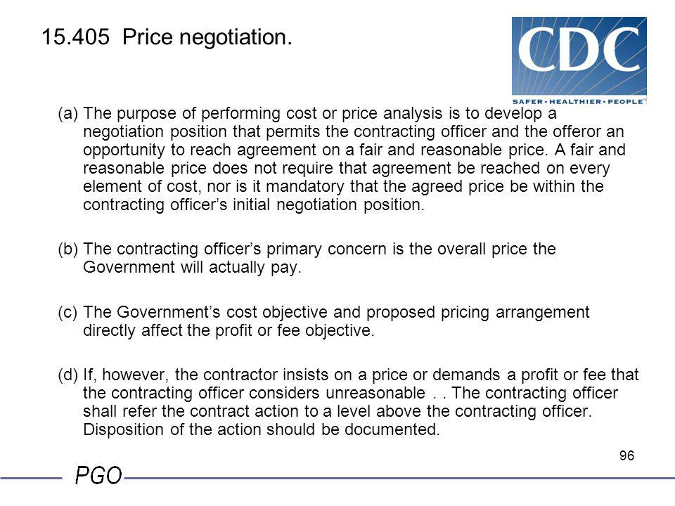 15.405 Price negotiation.