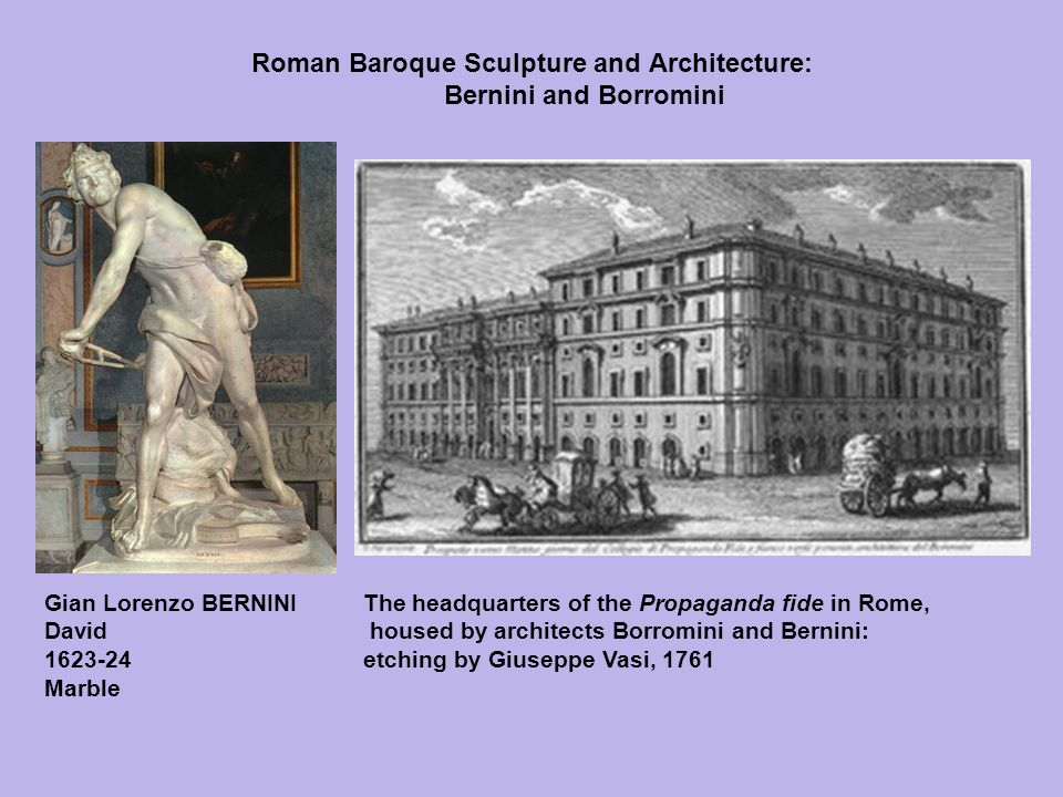 Roman Baroque Sculpture and Architecture: Bernini and Borromini