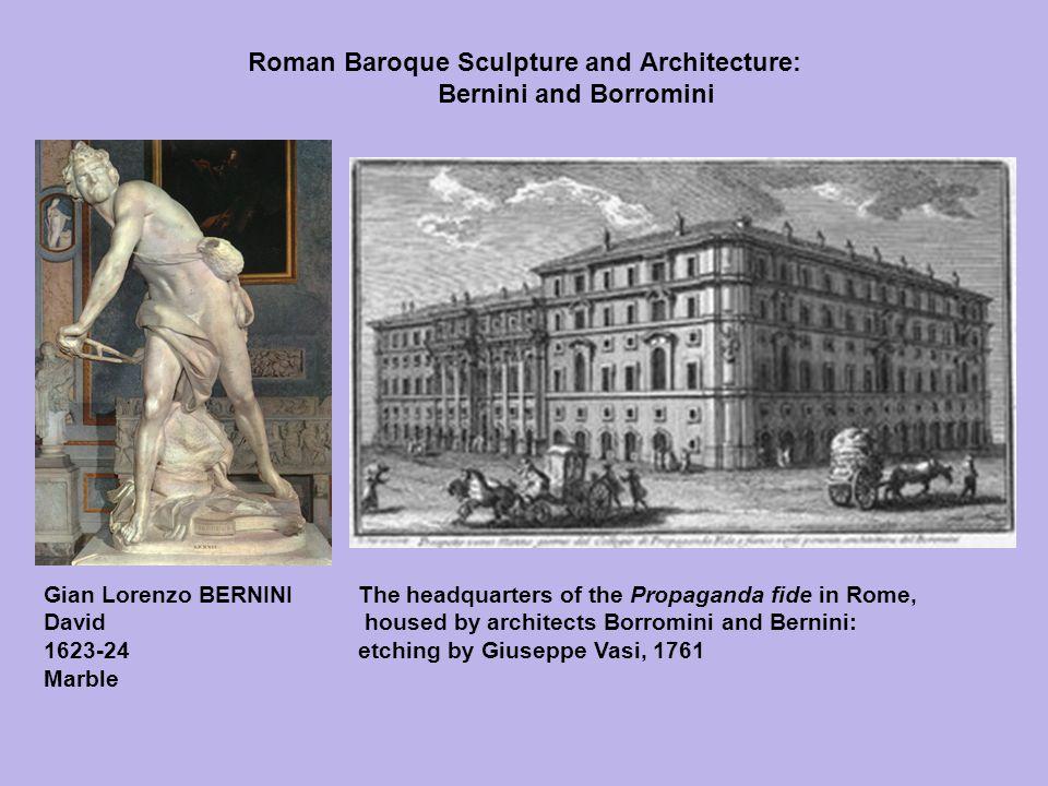 Roman Baroque Sculpture and Architecture: Bernini and Borromini