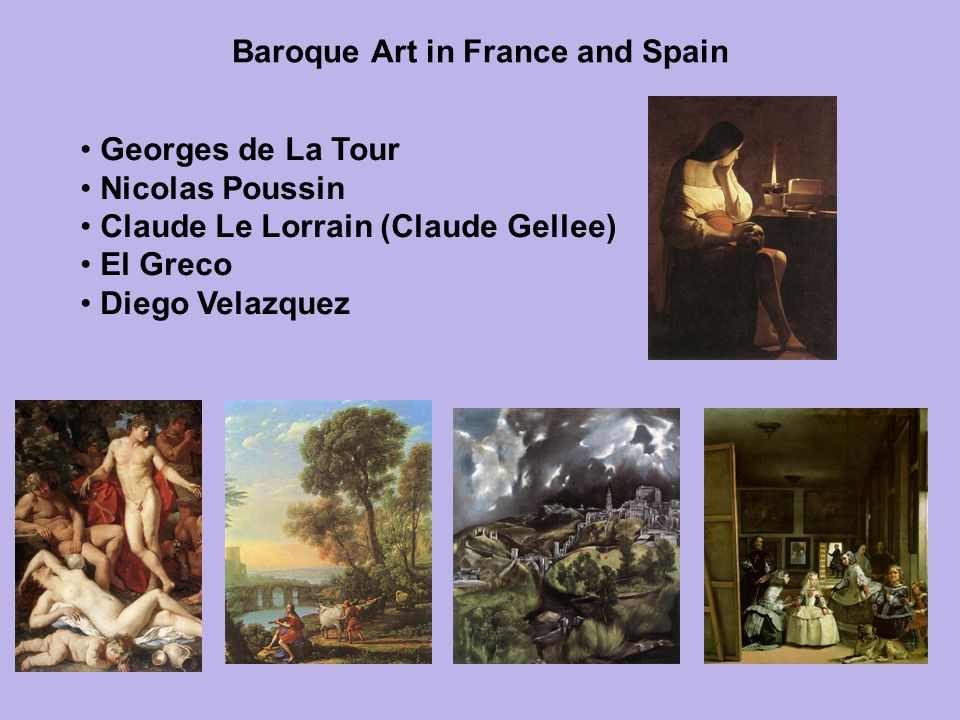 Baroque Art in France and Spain