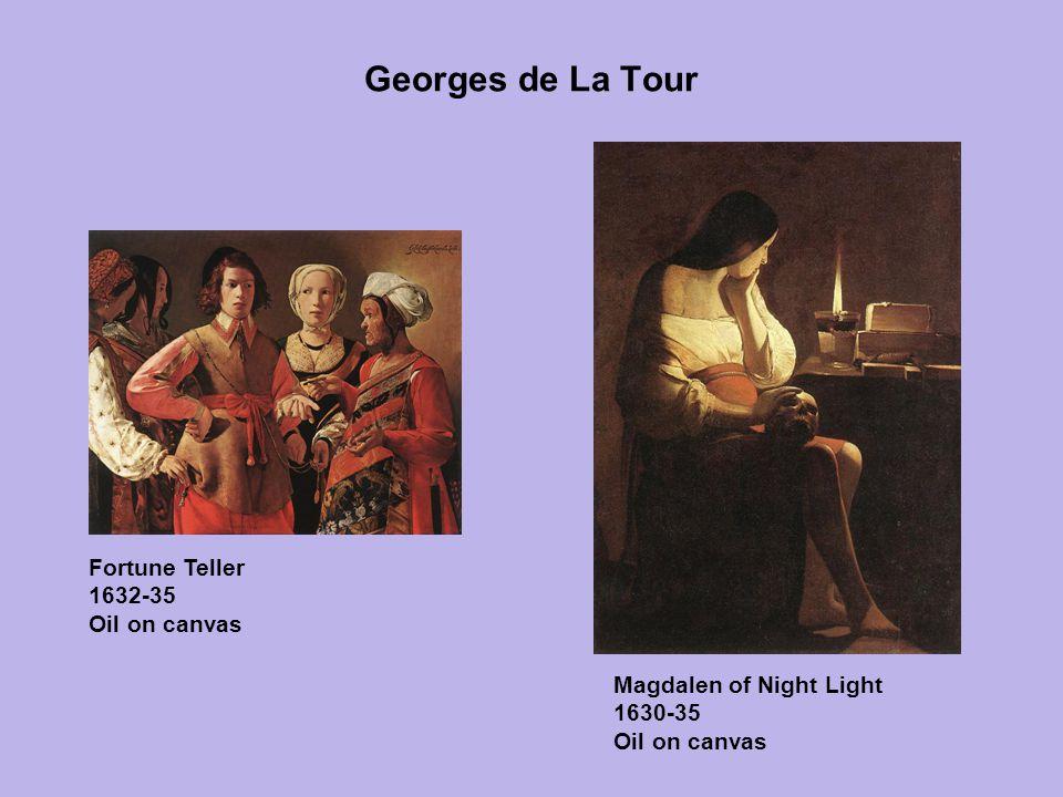 Georges de La Tour Fortune Teller 1632-35 Oil on canvas