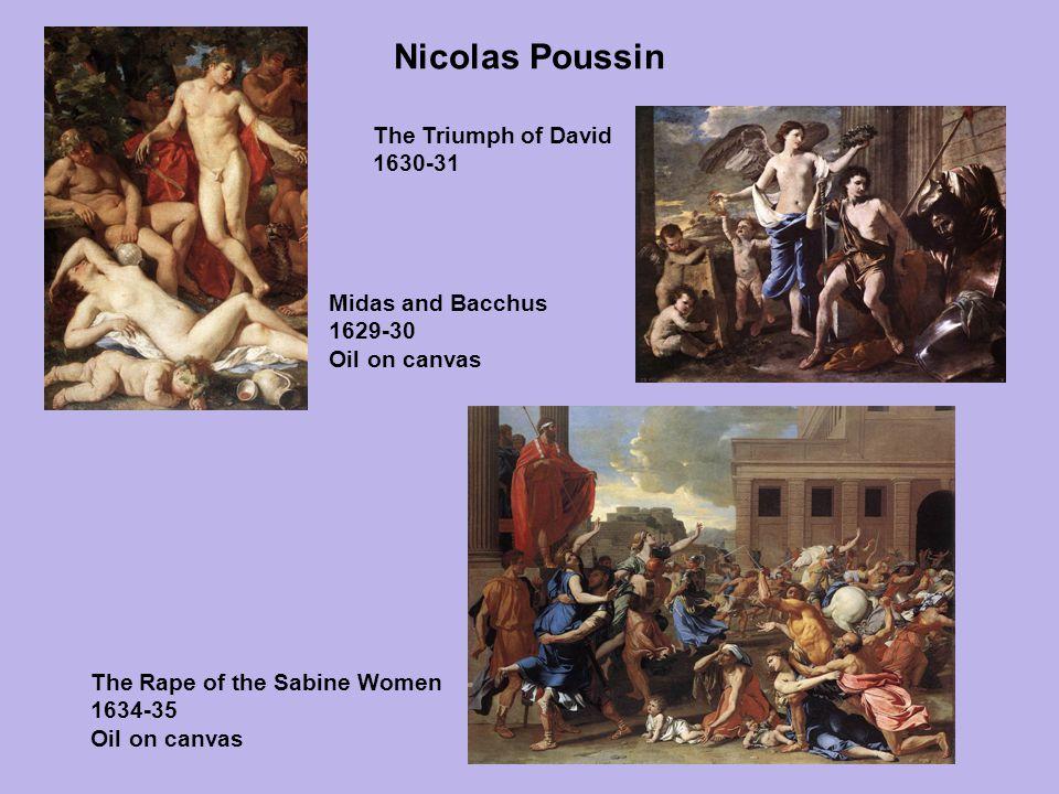 Nicolas Poussin The Triumph of David 1630-31