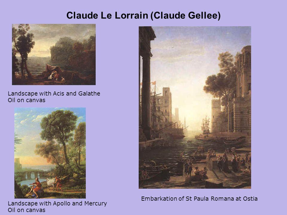Claude Le Lorrain (Claude Gellee)