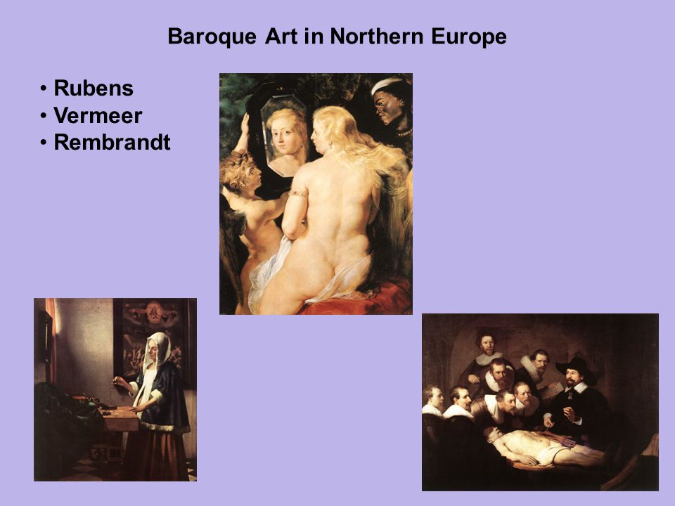 Baroque Art in Northern Europe
