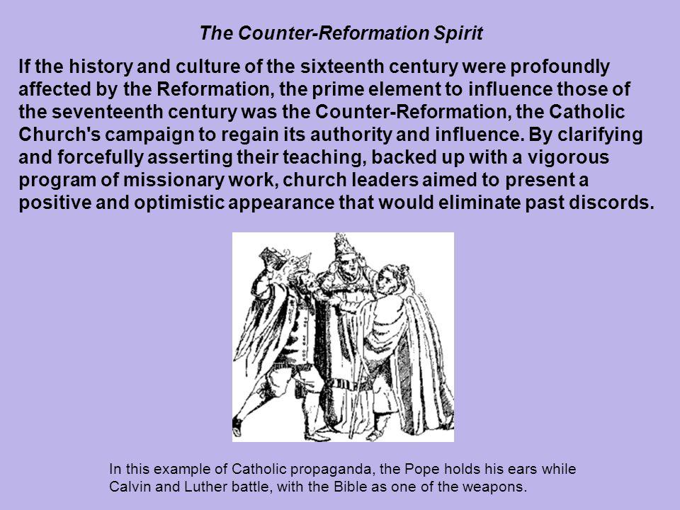 The Counter-Reformation Spirit