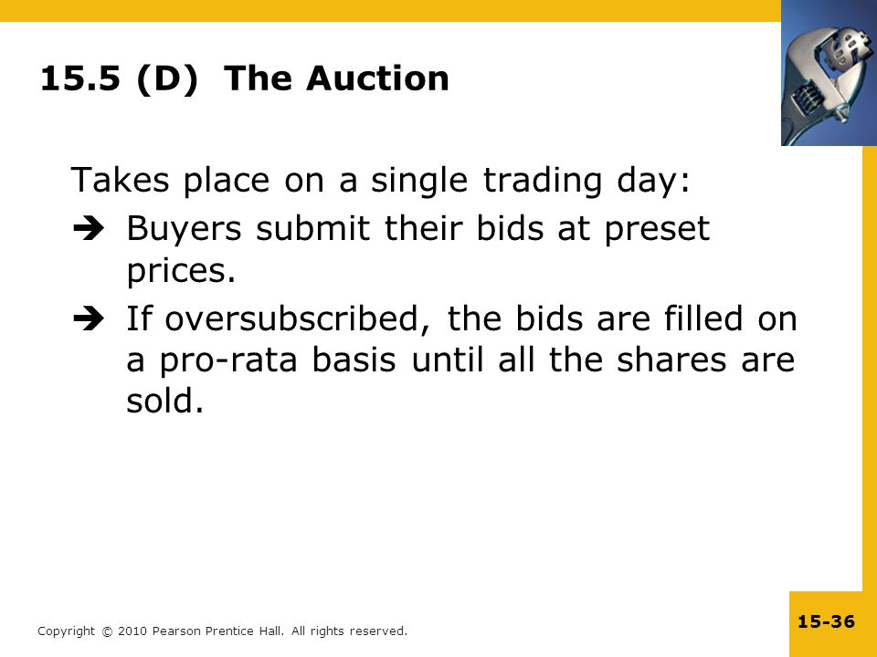 15.5 (D) The Auction