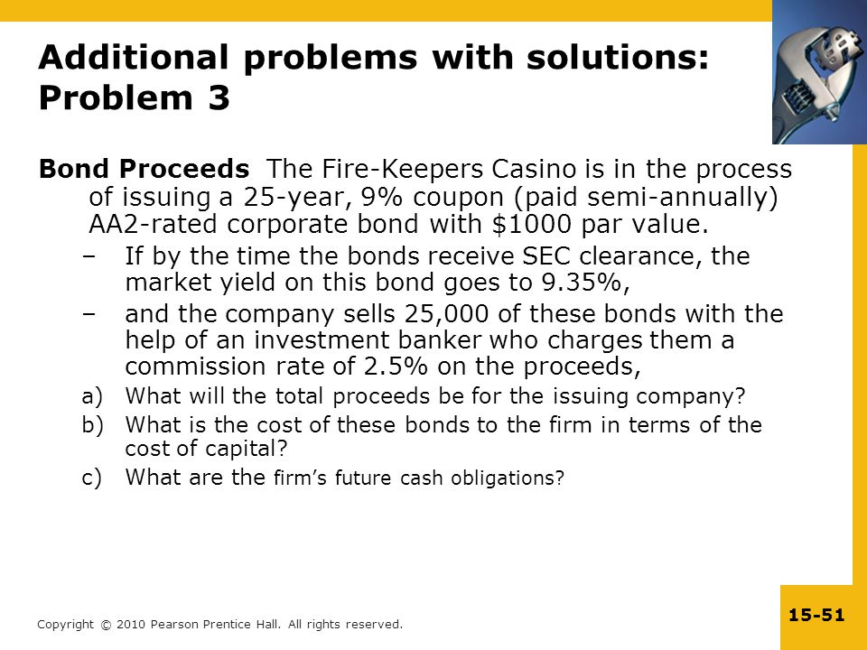 Additional problems with solutions: Problem 3